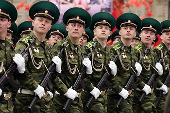 Россия стремится нарастить военную