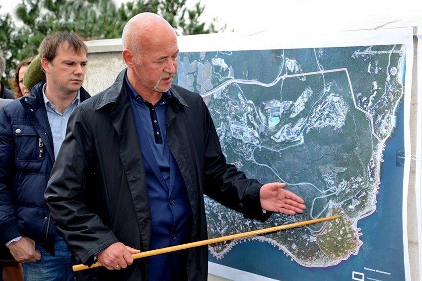 ВКрыму утвердили размещение игорной зоны натерритории санатория «Жемчужина» вГаспре