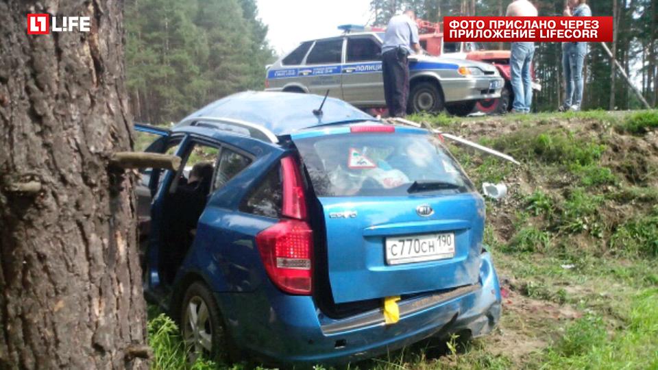 Под Владимиром вавтомобильной трагедии погибли 5 человек