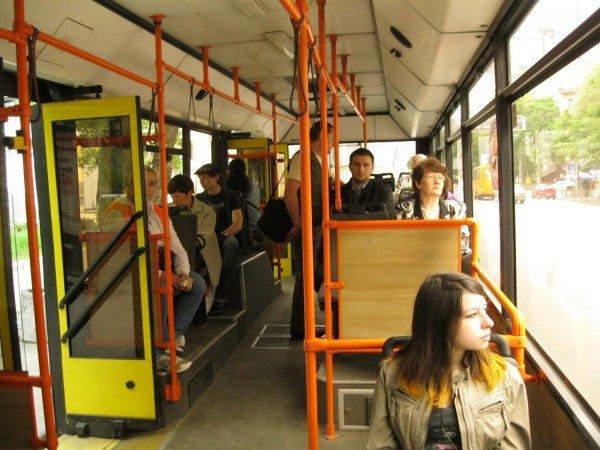 ВКрыму с1января предстоящего 2017г подорожает проезд втроллейбусах