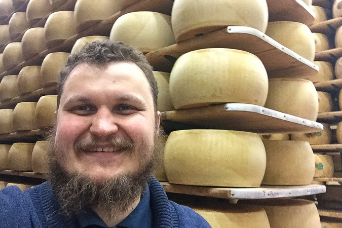 Предложения Россельхозбанка рекламирует фермер Олег Сирота
