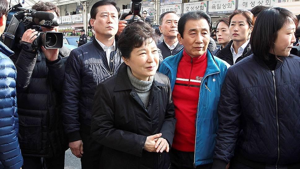 Президент Южной Кореи сказала свои полномочия премьеру