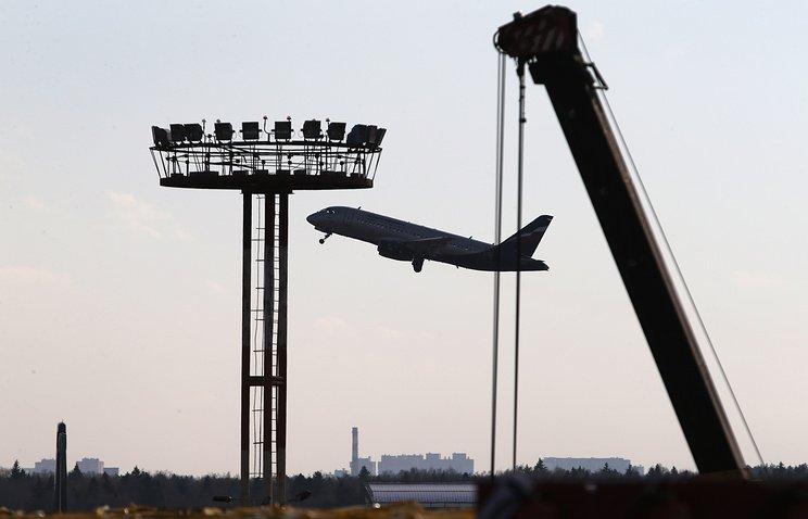 Вмосковском аэропорту столкнулись два самолета