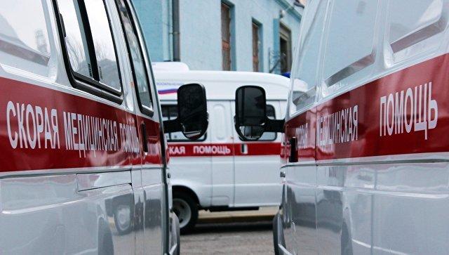 ВКрыму грузовой автомобиль врезался врейсовый автобус, пострадали четверо