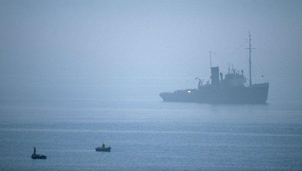 Керченская переправа закрылась из-за тумана