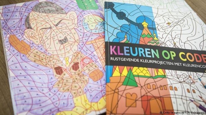 Раскраску сзигующим Гитлером изъяли изпродажи вГолландии