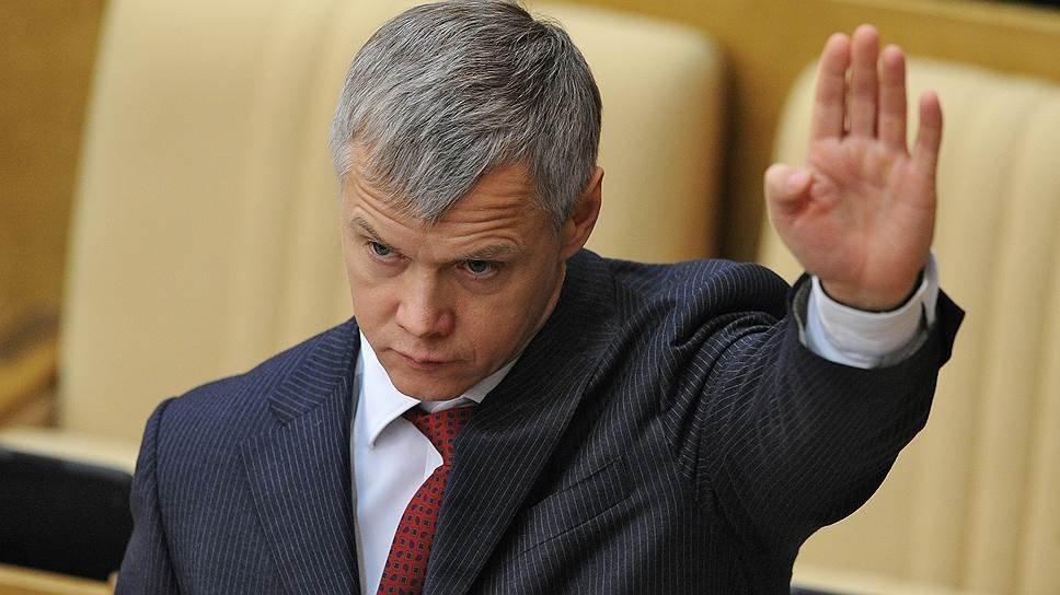 Депутат Гартунг принуждает людей критиковать власти и«Единую Россию»