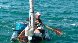 Узбек пытался на плоту попасть в Крым через Керченский пролив