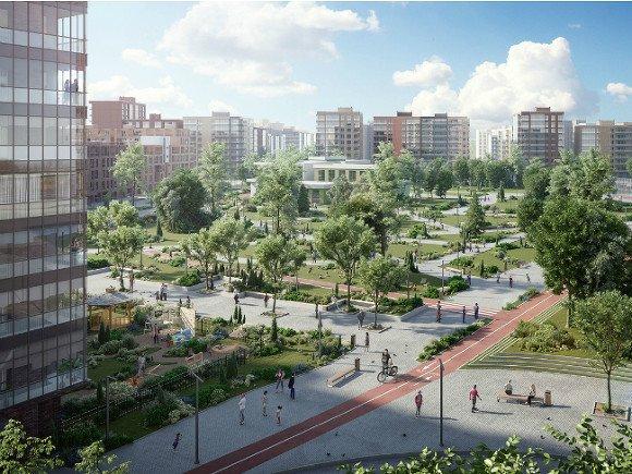 Glorax Андрея Биржина делает в северной столице «город вгороде»