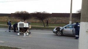 ДТП в Севастополе: движение транспорта парализовано
